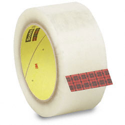 Carton sealing moving tapes